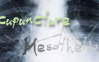 acupuncture helps to treat mesothelioma conditions